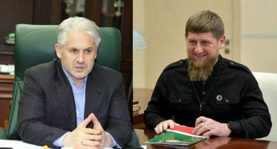 Кадыров и Хучиев